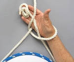 BOW LINE ONE HAND