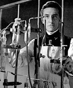 Dr. Frankenstein, I presume